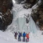 【八丁の湯オリジナル企画】奥鬼怒の神秘の氷瀑を巡るスノートレッキング